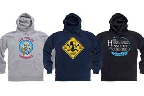 Groupon Goods Global GmbH - Unisex Breaking Bad Hoodie With Free Delivery - Save 22%