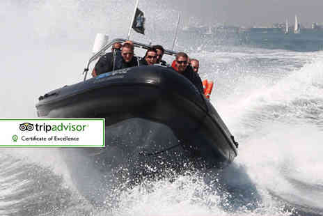 Seadogz - 60 minute extreme RIB boating experience for one person - Save 60%