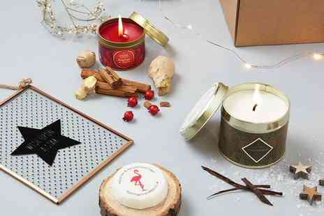 The Hut Group - Luxury Scent From Candle Gift Set Plus Delivery Included - Save 50%