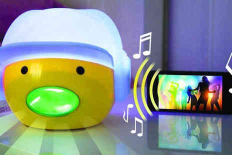 Internet Shop - Colour Changing Noise Activated Cartoon Head Light - Save 70%