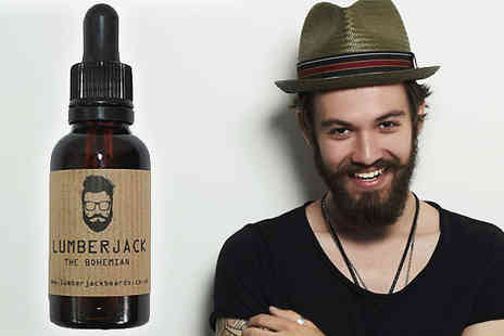 Lumberjack Beards - Beard Oil The Bohemian 30ml - Save 50%
