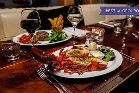 The Crazy Bear - Wagyu Steak, Lobster and Premium Champagne - Save 60%