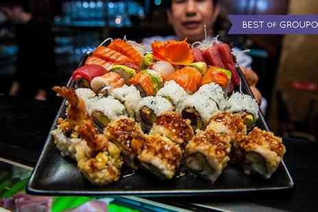The Crazy Bear - Sushi, Sashimi and Premium Champagne - Save 50%
