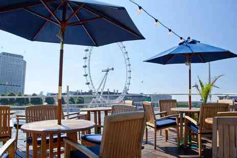 R S Hispaniola - Afternoon tea with Prosecco for two aboard the RS Hispaniola and a River Red Rover ticket - Save 62%
