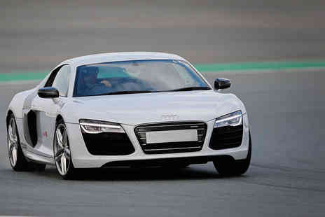 Activity Superstore - Audi R8 thrill driving experience - Save 0%