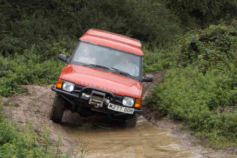 Dorset Activities - Adult or junior 4x4 driving experience choose from two locations - Save 62%