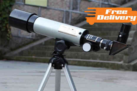 gift box bristol - F360 x 50 Refractive Astronomical Telescope - Save 76%