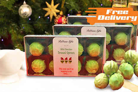Ultimate Gift Packs - Chocolate Brussel Sprouts 1 or 2 Packs - Save 44%