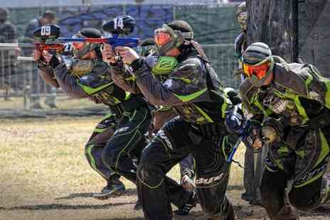 Nationwide Paintball - Day of Paintball for Up to 20 - Save 0%