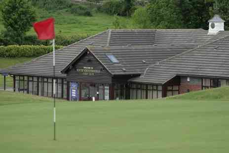 South Chesterfield Golf Club - 18 Holes of Golf with a Bacon or Sausage Roll and Hot Drink for Two or Four - Save 45%