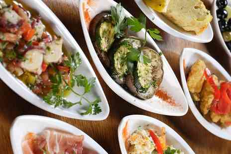 Torres Tapas - Six or Twelve Spanish or Mexican Tapas to Share with Sangria for Two or Four - Save 46%