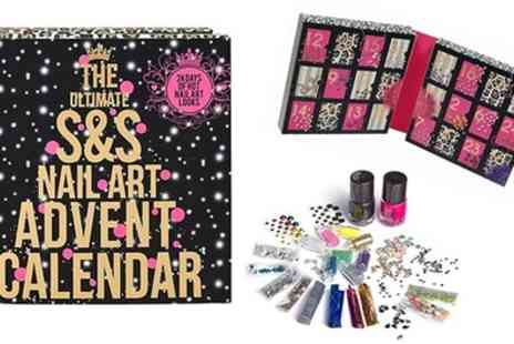 Groupon Goods Global GmbH - Sugar and Spice Nail Art Advent Calendar With Free Delivery - Save 0%