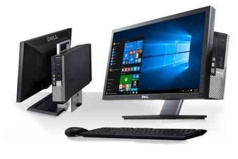 Computer Remarketing Services - Refurbished Dell Optiplex 790 with 22 Inch Monitor AIO Core i3 2.5GHz 4GB Or 8GB Or 16GB Ram 250GB Or 1TB HDD Windows 10 Home 64Bit - Save 0%
