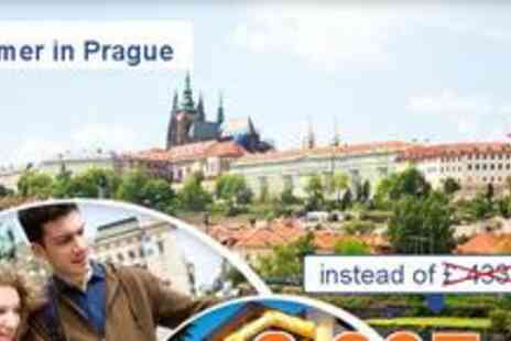 President Hotel - 3 days for 2 including a sightseeing tour in Prague - Save 52%