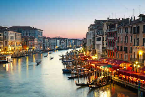 ClearSky Holidays - Two night 4 Star Venice break with flights and tour upgrades - Save 42%