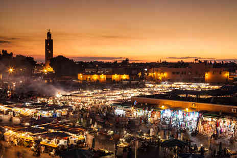 ClearSky Holidays - Two, three or four night Marrakech break with flights and breakfast - Save 40%