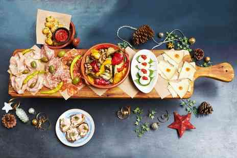 Jamies Italian - Three course festive meal with a glass of Prosecco - Save 0%