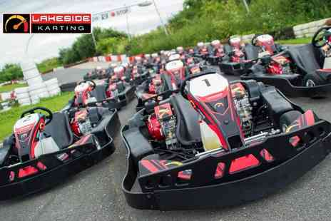 LetsGoActive - Go karting experience for one - Save 0%