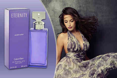Deals Direct - 100ml bottle of Calvin Klein Eternity Purple Orchid eau de parfum - Save 35%