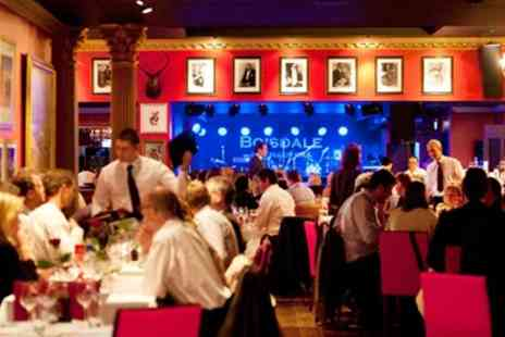 Boisdale of Canary Wharf - Two Course Dinner with Prosecco & Show Tickets for 2 - Save 0%