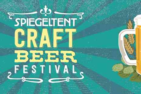 Christmas Spiegeltent - Entry to the Craft Beer Festival on 26 November - Save 50%