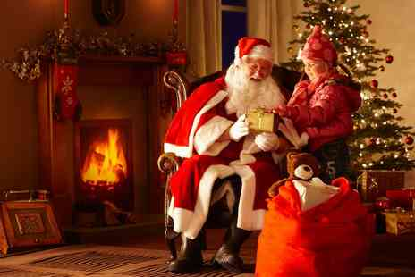 Second Skin Events - Santas Grotto Visit with Gift for One or Two - Save 0%