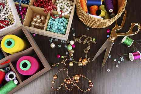 Bejewelled Academy - Christmas Jewellery Making Workshop for One or Two - Save 47%