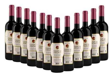 MONTE REGIO ALIMENTACIÓN ARTESANAL SOCIEDAD ANÓNIMA - 12 Bottles of Spanish Red Wine With Free Delivery - Save 69%