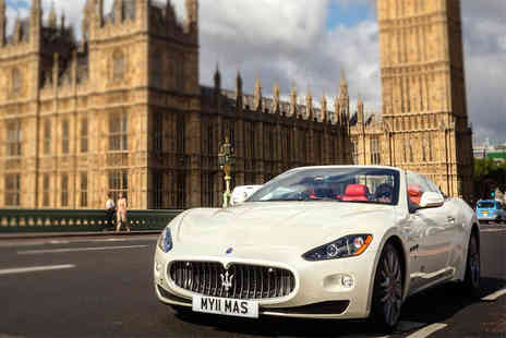 OMGhotels.com - Four Star London stay at One of seven hotels with a one hour Maserati driving experience - Save 47%