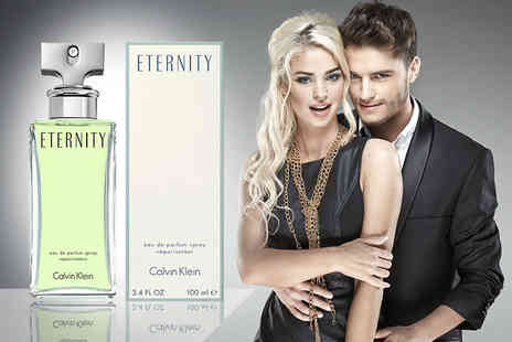 Deals Direct - 100ml bottle of Calvin Klein Eternity eau de parfum - Save 63%