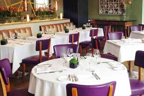 The River Bar & Restaurant - 5 Star Celebrity Hotspot 2 Courses & Bubbly for 2 - Save 46%