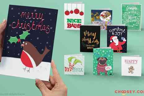 Choosey - Personalised Christmas and Greeting Cards - Save 45%
