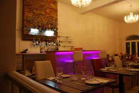 Noush Richmond - Two Course Indian Meal with Sides and Rice or Naan for Two or Four - Save 54%