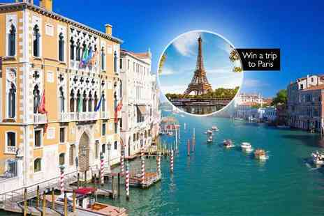 Crystal Travel - Two or three night 4 Star Venice break with flights and a chance to win a trip to Paris - Save 44%