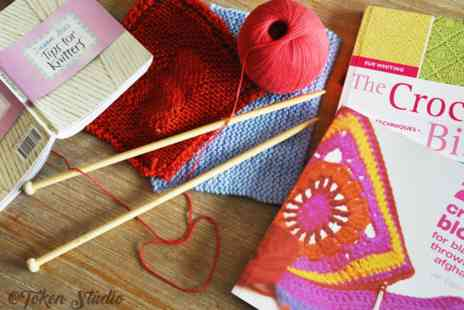 Token Interior - Four beginner knitting classes - Save 71%