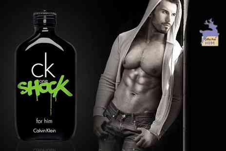 Deals Direct - 200ml bottle of CK One Shock for him eau de toilette - Save 60%