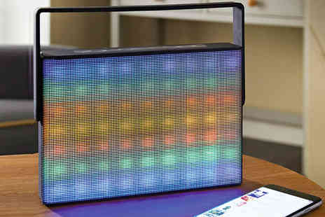 Groundlevel - Groundlevel for a retro style multicoloured LED Bluetooth speaker - Save 0%
