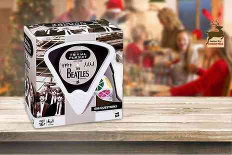 Linen Ideas - Beatles trivial pursuit game - Save 50%