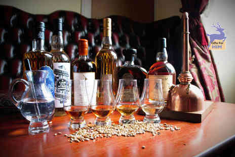 Jeffrey St Whisky and Tobacco - One hour whisky tasting experience for one person - Save 32%