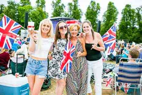 Burghley House - Battle Proms Summer Concert for Two with Prosecco - Save 12%