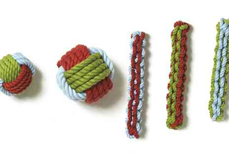 Groupon Goods Global GmbH - Pet Brands 100% Cotton Marine Rope Dog Toy - Save 0%