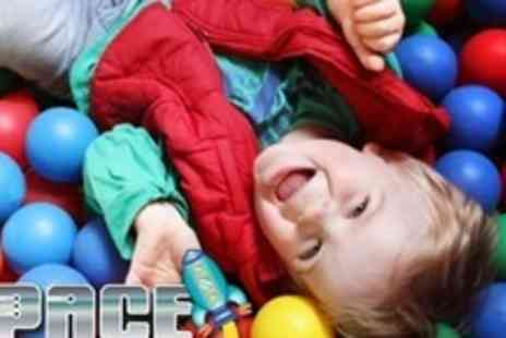 Space Play - Three Soft Play Family Tickets - Save 74%