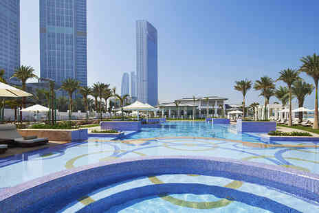 St Regis Abu Dhabi - Five Star 7 nights Stay in a Superior Sea View Room - Save 66%