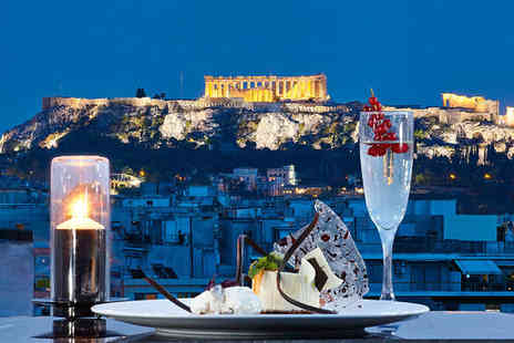 Wyndham Grand Athens - Five Star 5 nights Stay in an Executive Double City View Room - Save 50%