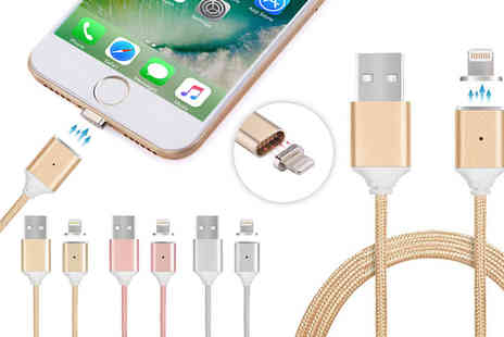 Ckent - Magnetic charging cable available in gold, rose gold and silver - Save 57%