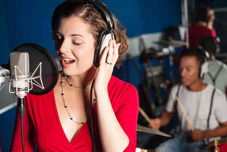 River Studios - Recording session of your favourite song & CD - Save 46%
