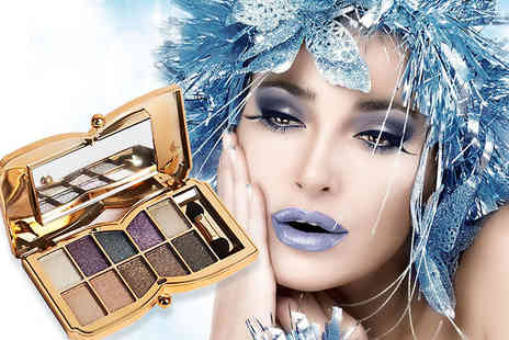 Forever Cosmetics - Butterfly glitter eyeshadow palette get 10 gorgeous colours - Save 90%