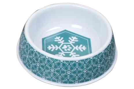 Groupon Goods Global GmbH - Festive Collection Cats Christmas Dinner Feeding Bowls - Save 0%