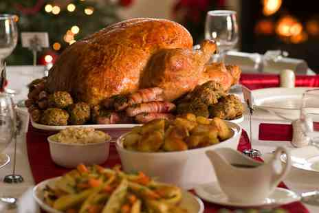 The White Hart - Three Course Christmas Meal for One, Two or Four - Save 0%