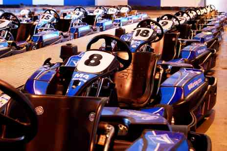 M4 Karting - 60 Minute Go Karting Session for 10 People - Save 34%
